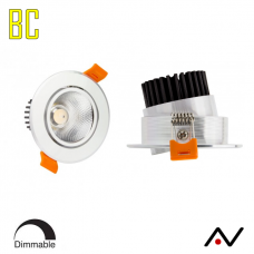 Spot 7W COB blanc chaud Dimmable