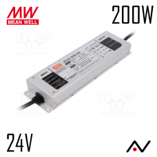 Alimentation 24V 200W MeanWell