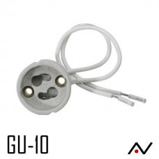 Douille GU10 av.15cm câble