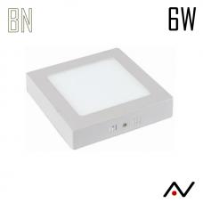 Panneau LED 6W apparent