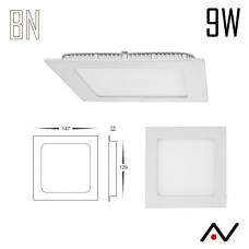 Panneau LED 9W