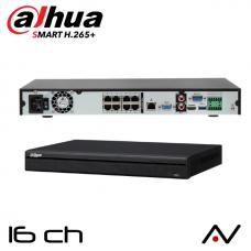 NVR 4 entrées Dahua NVR5216-8P-4KS2