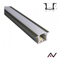 Profil aluminium grand rebord 100cm
