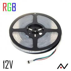 Ruban LED 5050 RGB 30 Led/M 12V