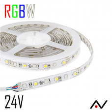 Ruban LED 5050 RGBW 60L/M 24V CC