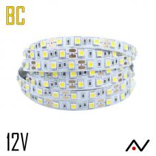 Ruban LED 5050 Blanc Chaud 60 Led/M 12V