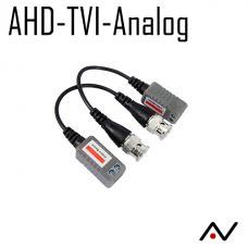Video balun AHD-TVI